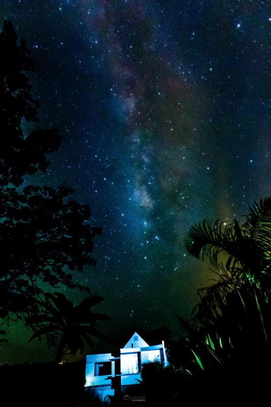 Milky Way over Casa Angular