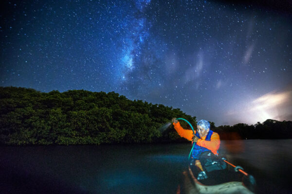 Milky Way over Vieques Biobay